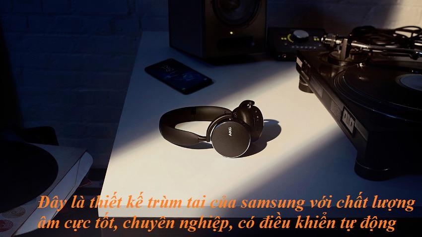 cách kết nối tai nghe chụp tai samsung