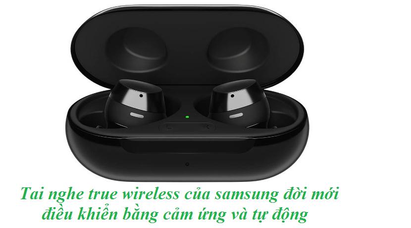 cách kết nối tai nghe true wireless samsung