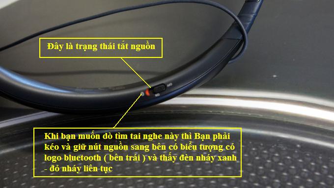 sử dụng tai nghe bluetooth samsung