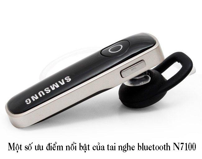 Thông số kỹ thuật của tai nghe bluetooth samsung N7100