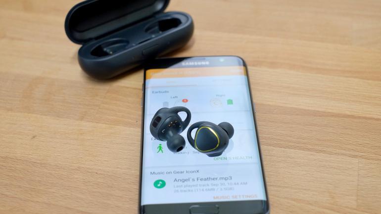 Thông tin sơ lược về chiếc tai nghe Samsung chính hãngGear IconX