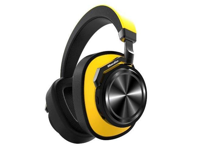 Tai nghe bluetooth bluedio T6 với thiết kế chụp tai