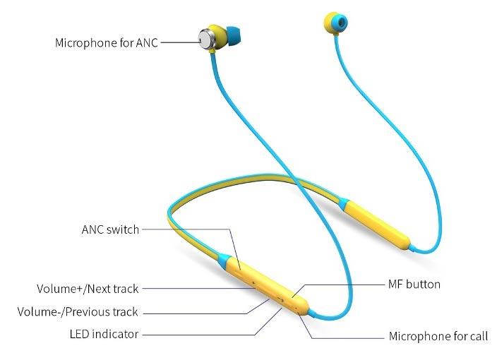 tai nghe không dây Bluedio T- Energy với đỉnh cao với công nghệ chống ồn ANC