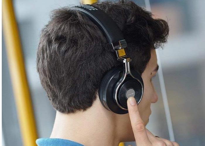 Tai nghe bluetooth bluedio T3 Plus có thẻ nhớ nghe MP3
