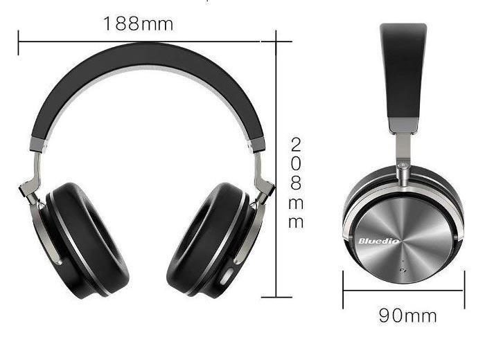Tai nghe bluetooth Bluedio T4s với công nghệ ANC Công nghệ khử tiếng ồn chủ động