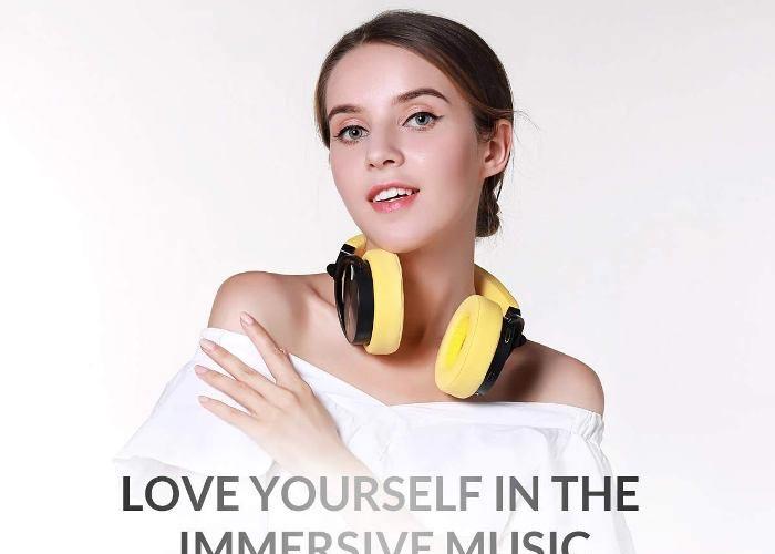tai nghe Bluetooth Bluedio T5 dễ chuyển đổi thành tai nghe headphone