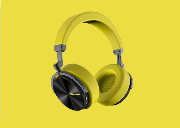 tai nghe Bluetooth Bluedio T5 tích hợp công nghệ khử ồn, giảm nhiễu