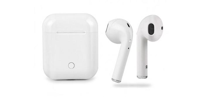 Mẫu tai nghebluetooth I7s theo airpods Apple