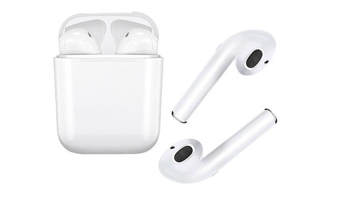 Tai nghe bluetoth I7S với dung lượng pin tương đối khá so với các dòng tai nghe true wireless hiện nay