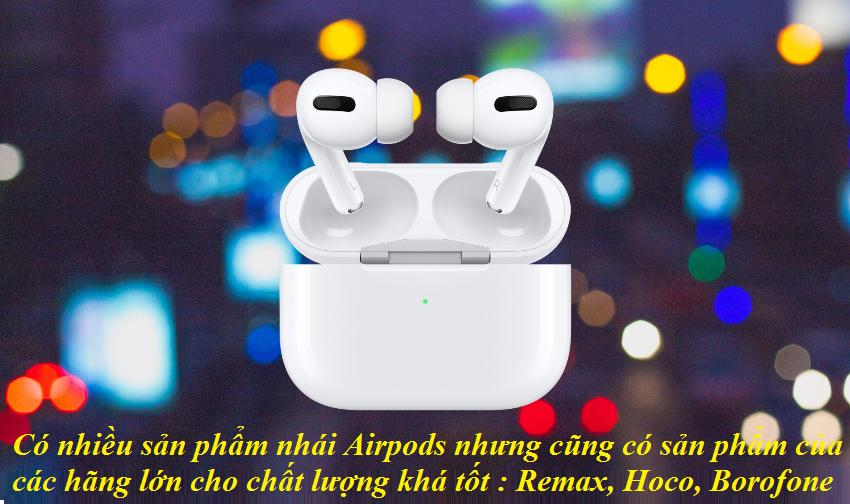 mua tai nghe bluetooth airpods không dây