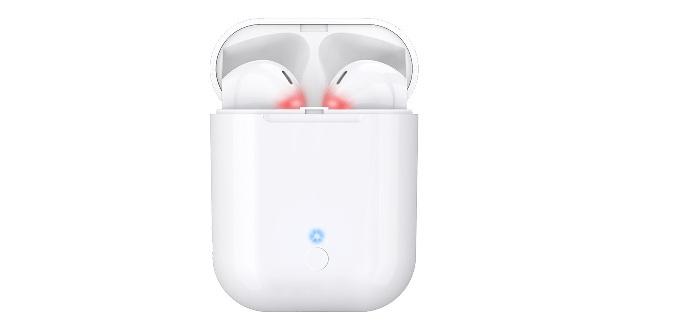 tai nghe với công nghệ cảm ứng, bạn chỉ cần đặt tai nghe vào hộp là tự động sạc pin, ngắt kết nối với điện thoại