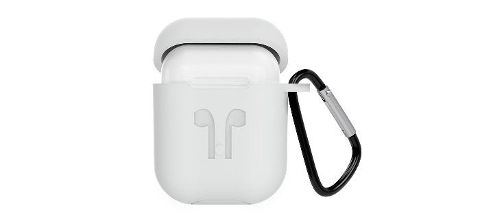 Case Với chất liệu silicon khá dày nên nó bảo vệ khá tốt cho hộp sạc bên trong