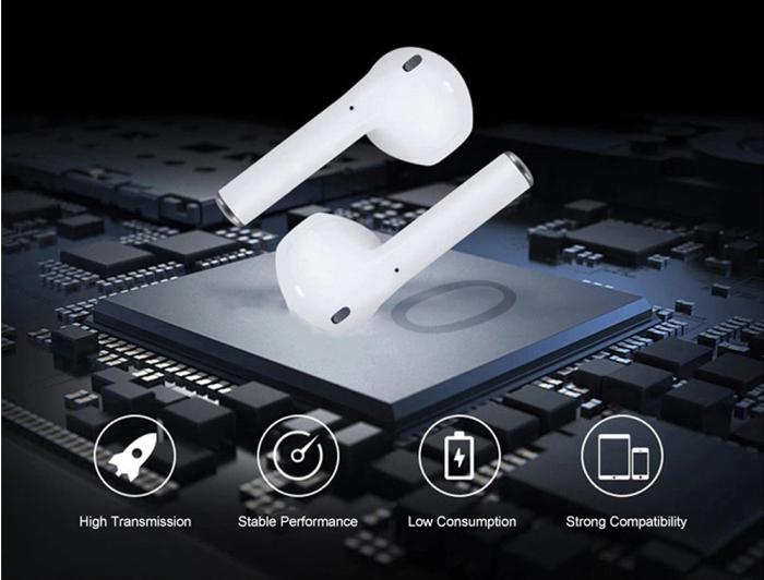 Tai nghe dùng chấu hít như của Apple nên chất lượng bền vững