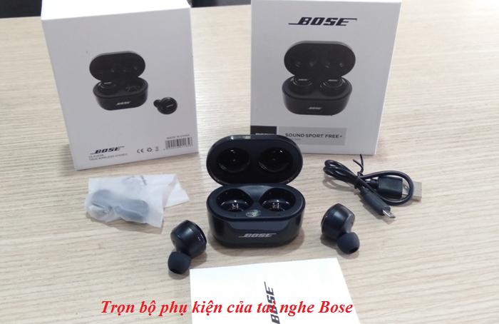 Cách sử dụng tai nghe bluetooth Bose Sport Free+