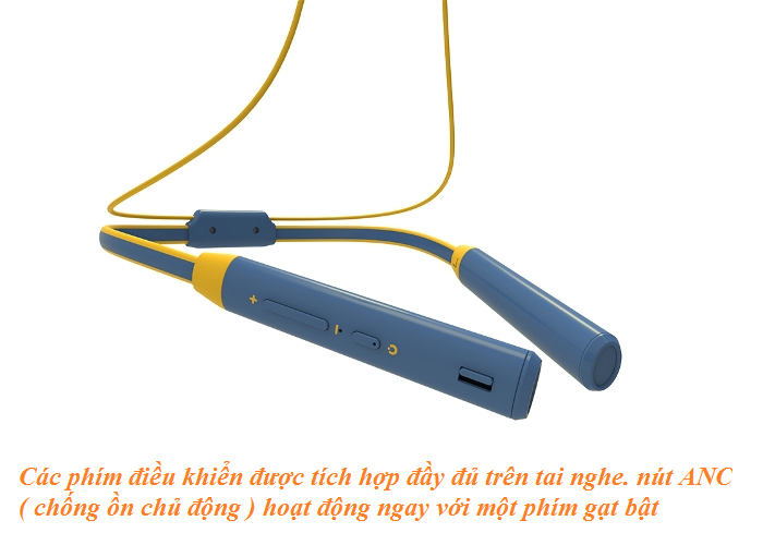 bluetooth Bluedio TN2 còn được trang bị công nghệ khử ồn