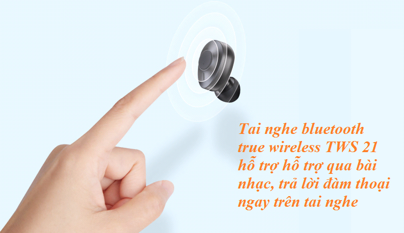 Tai nghe true wireless Remax TWS 21