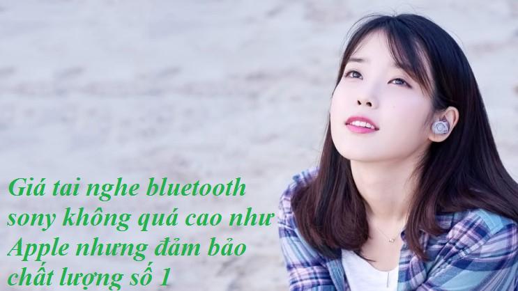 tai nghe bluetooth không dây sony
