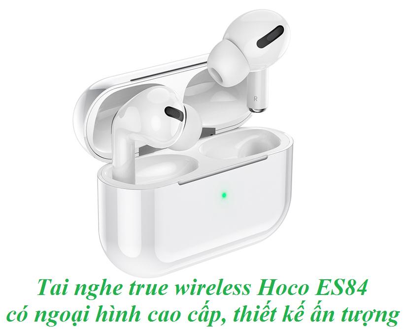 Tai nghe không dây Hoco ES84 với dock xạc tiện dụng