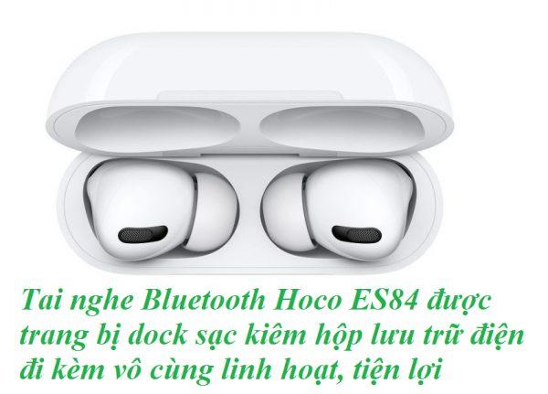 Tai nghe bluetooth Hoco ES84 chất âm ấn tượng, kết nối không dây ổn định
