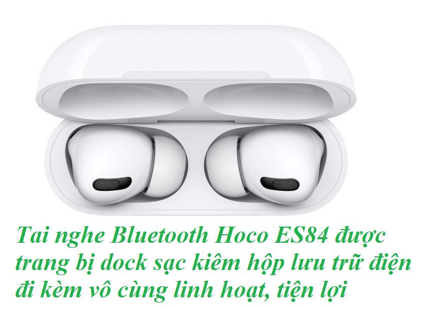 Tai nghe Hoco ES84 chất âm ấn tượng, kết nối không dây ổn định