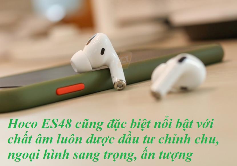 Tai nghe true wireless ES84 kết nối nhanh chóng, đơn giản